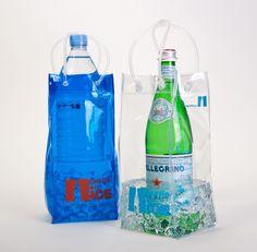 Bottle On Ice  ice bucket bottle chiller  http://bottleonice.com/