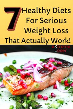 7 Healthy Diets For Serious Weight Loss That Actually Work New Things To Learn, Best Diets, Weight Loss, Beef, Healthy, Food, Meat, Losing Weight, Essen