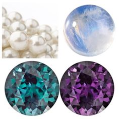 Happy June!  Here is to the month of THREE beautiful birth stones. The classic pearl, moonstone and the amazing colour changing alexandrite that ranges from green to purple to blue! Happy birthday June babies!
