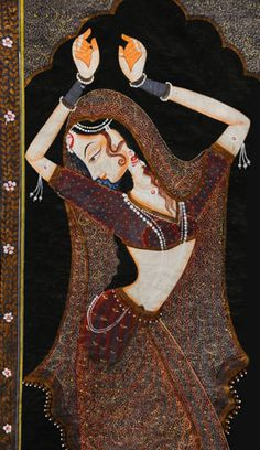 Image discovered by Aida. Find images and videos about painting, india and bollywood on We Heart It - the app to get lost in what you love. Indian Artwork, Indian Folk Art, Madhubani Art, Madhubani Painting, Krishna Painting, Mughal Paintings, Indian Art Paintings, Traditional Paintings, Traditional Art