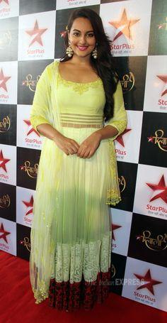 Sonakshi Sinha promoting her upcoming film 'Bullett Raja'