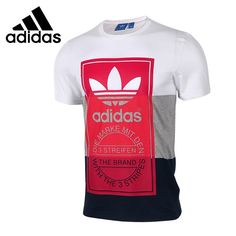 53.94$  Watch here - http://alim4k.shopchina.info/go.php?t=32808468757 - Original New Arrival 2017 Adidas Originals PANEL TONGUE TE Men's T-shirts short sleeve Sportswear   53.94$ #SHOPPING
