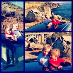 Big Sur California kids