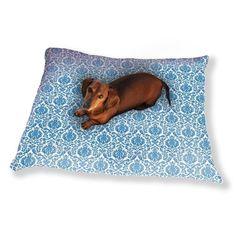 Uneekee Renaissance Damask Dog Pillow Luxury Dog / Cat Pet Bed