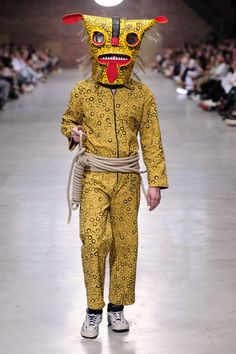 Anbu Mask, Monster Mask, Jaguar, Antwerp, Issa, Catwalk, Folk Art, Parachute Pants, Costumes