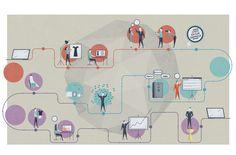 Infographic - Um guia para criar sua loja virtual by Alexandre Mauro, via Behance