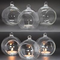 100% brand new and high quality Material: Borosilicate glass Color: Transparent Exquisite hanging cl