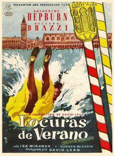 Locuras de verano / un film de David Lean ; guión, H.E. Bates, David Lean