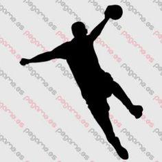 Pegame.es Online Decals Shop  #sport #jump #ball #handball #vinyl #sticker #pegatina #vinilo #stencil #decal