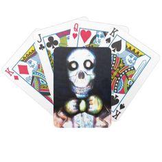 Bearmunk Skull Playing Cards  $22.15  by Bearmunk  - custom gift idea