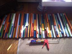 DIY Customized Painted Wood Art | Curbly