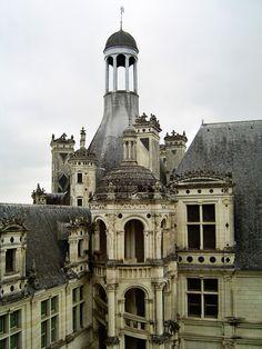 Château de Chambord, France.