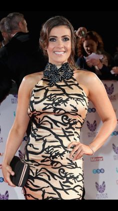 Raising awareness: Brave Kym Marsh has revisited her emotional miscarriage, in which she lost her son Archie at 21 weeks and five days, for an upcoming Corrie storyline Curvy Women Outfits, Clothes For Women, Kym Marsh, Stunning Women, Beautiful Females, Sexy Older Women, Hot Dress, Beautiful Actresses, Beautiful Celebrities