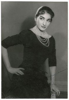 Maria Callas 1954