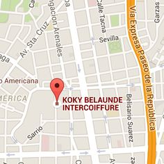 KOKY BELAUNDE INTERCOIFFURE - Google Maps Google, Maps, Paths, Map, Peta, Cards