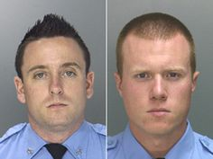Philadelphia Police officers Sean McKnight and Kevin Robinson. (Handouts)