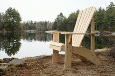 Grandpa Adirondack Chair Plans - Dwg Files For Cnc Machines