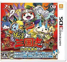 Brand New Nintendo 3DS Yo-kai Youkai Yokai Watch Sangokushi w/Medal