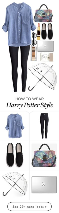 """Casual morning"" by fruktamunta on Polyvore featuring H&M, Ted Baker, Kate Spade, Tom Ford, Clinique and Bella Freud"