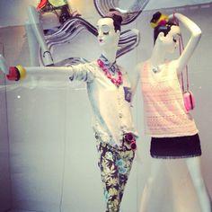 Visual merchandising! #escaparates