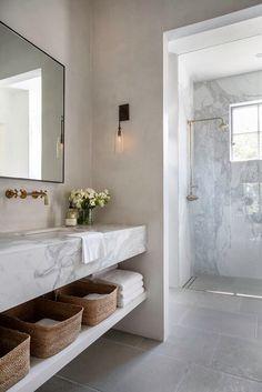 Timeless Bathroom, Beautiful Bathrooms, Classic Bathroom, Bad Inspiration, Bathroom Inspiration, Bathroom Ideas, Bathroom Organization, Bathroom Vanities, Best Bathroom Designs