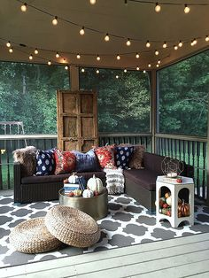 Autumn on the Back Porch | Haneens Haven