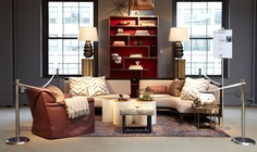 Thom Filicia's vignette of today's design style at the City Modern event