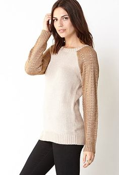 Fancy - Standout Sleeve Sweater | LOVE21 - 2000110123