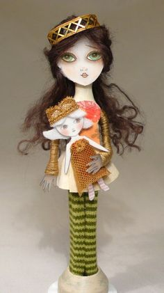Clothes pin doll.