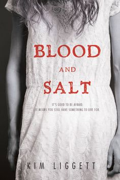"""Blood and Salt """"When you fall in love, you will carve out your heart and throw it into the deepest ocean. You will be all in—blood and salt.""""  These are the last words Ash Larkin hears before her mother returns to the spiritual commune she escaped long ago. But when Ash follows her to Quivira, Kansas, something sinister and ancient waits among the rustling cornstalks of this village lost to time."""