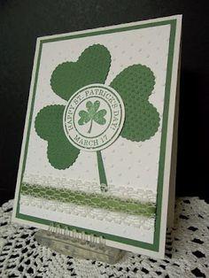 very cute St. Patrick's Day card  mrsboz.blogspot.com