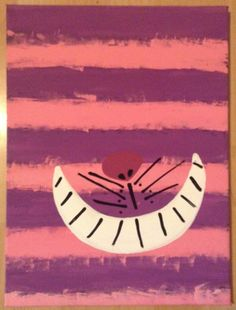 Alice In Wonderland Cheshire Cat Painting
