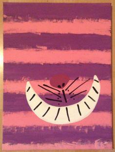 Alice In Wonderland Cheshire Cat Paintings