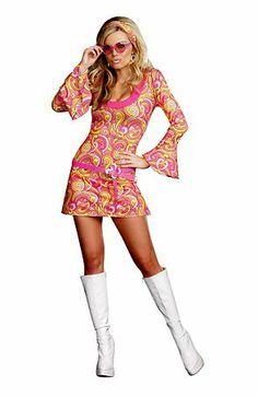 Go Go Gorgeous Sexy | Wholesale 60's Costumes Halloween Costumes for Sexy $31.90; wholesalehalloweencostumes.com