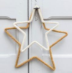 Idée étoiles le petit florilège en tricotin