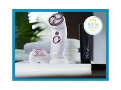 Entdecke die Innovation unter den Epilierern: Der Braun Silk-épil 7 Skin Spa mit zusätzlichen Peelingaufsatz!