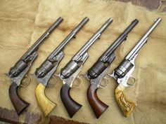 Conversions Photo by Weapons Guns, Guns And Ammo, Rifles, Black Powder Guns, Hand Cannon, Gun Holster, Holsters, Cool Guns, Le Far West
