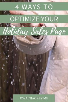 A good sales page can make the difference between lacklustre earnings and a healthy dose of holiday sales. It's important that you take your time with this step and don't rush it. #salesfunnels #holidaysales #blackfriday #cybermonday #holidayplanner Take Your Time, You Take, You Can Do, Money Making Websites, Don T Rush, Holiday Planner, Countdown Timer, Video Capture, Holiday Sales