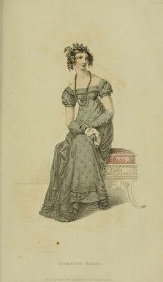EKDuncan - My Fanciful Muse: Regency Era Fashions - Ackermann's Repository 1821