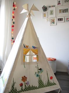 Teepee with a window!