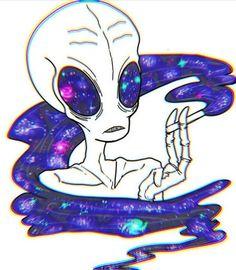 we specialise in industrially redundant imagery Alien Drawings, Trippy Drawings, Art Drawings, Arte Alien, Alien Art, Psychedelic Tattoos, Psychedelic Art, Alien Painting, Trippy Alien