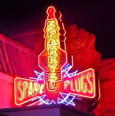Neon Time in Carsland
