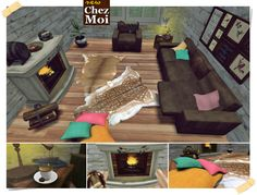 Line Toscane CHEZ MOI #secondlife #chezmoi #decor #mesh #home #furnitures #romance #living_room