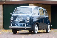 Vintage Fiat Multipla - the new one's disgusting!