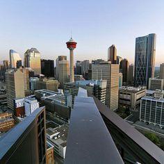 Downtown #YYC @j.visuals ✔ #Calgary #yycnow