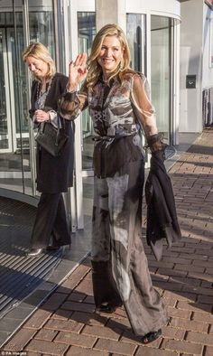 Queen Maxima attended the the Prince Bernhard Culture Prize ceremony at the Muziekgebouw aan 't IJ concert hall in Amsterdam Dec 2016