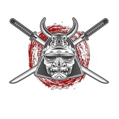 Bad Boy Samurai Warrior T Shirt-Noir