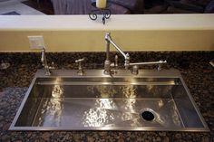 Hammered stainless steel Smarter Sink -kitchen-sinks