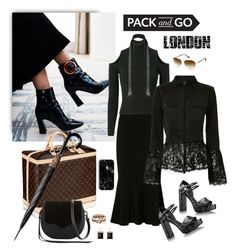 """""""Day to Night / PACK and GO"""" by jacque-reid ❤ liked on Polyvore featuring Cushnie Et Ochs, A.L.C., Exclusive for Intermix, Sirius, SPINELLI KILCOLLIN, Dezso by Sara Beltrán, Rebecca Minkoff, Tim Holtz and Miss Selfridge"""