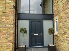 For quality, traditional wooden front & entrance doors look no further. We offer a bespoke range of timber, oak & hardwood designs. Aluminium French Doors, Aluminium Sliding Doors, Front Door Entrance, Front Entrances, Timber Door, Wooden Doors, Door Design, House Design, Contemporary Doors